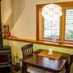 Ocean View Studio Cabin - Fireplace