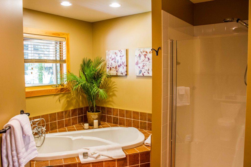 Ocean View Balcony Suite - Shower